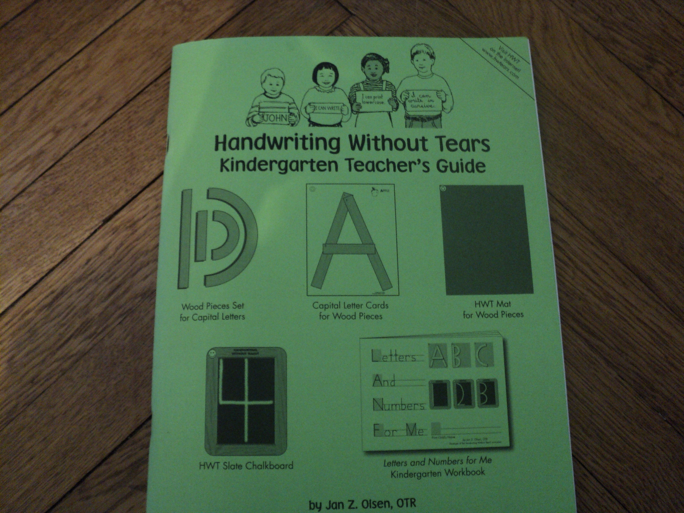 HWT Handwriting Without Tears 3rd Grade Cursive Teacher's Guide 2013 Homeschool